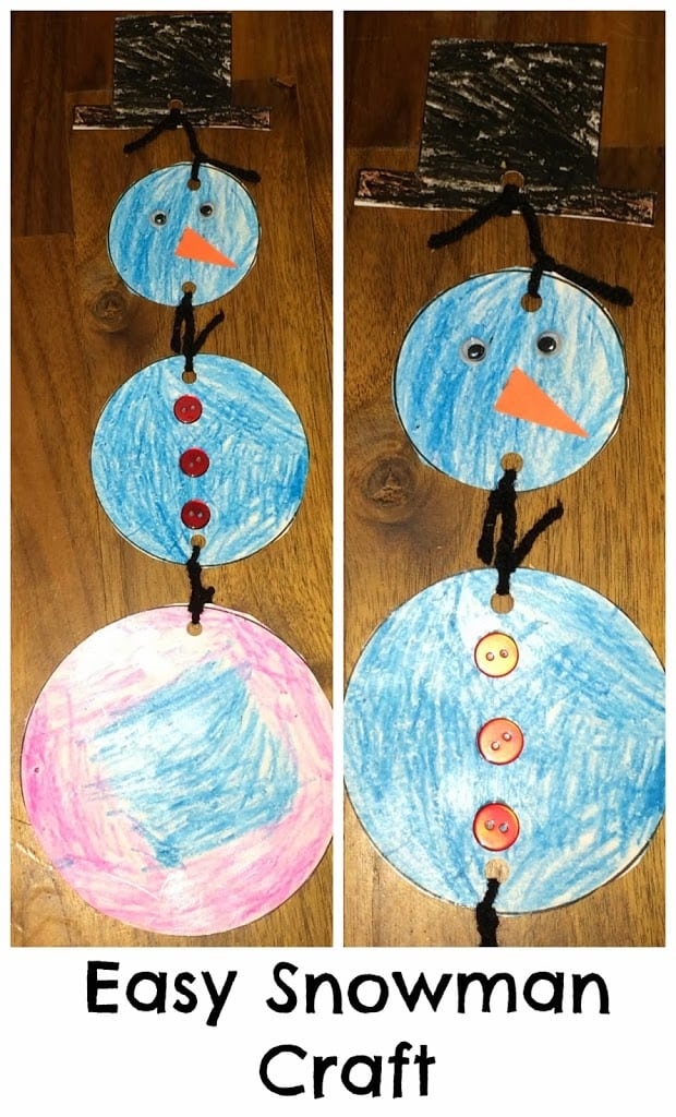 Easy Winter Crafts for Preschoolers - A Sparkle of Genius