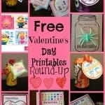 Kids Free Valentines Day Card Printable Round Up