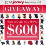 $600 to spend at Joovy.com Giveaway!