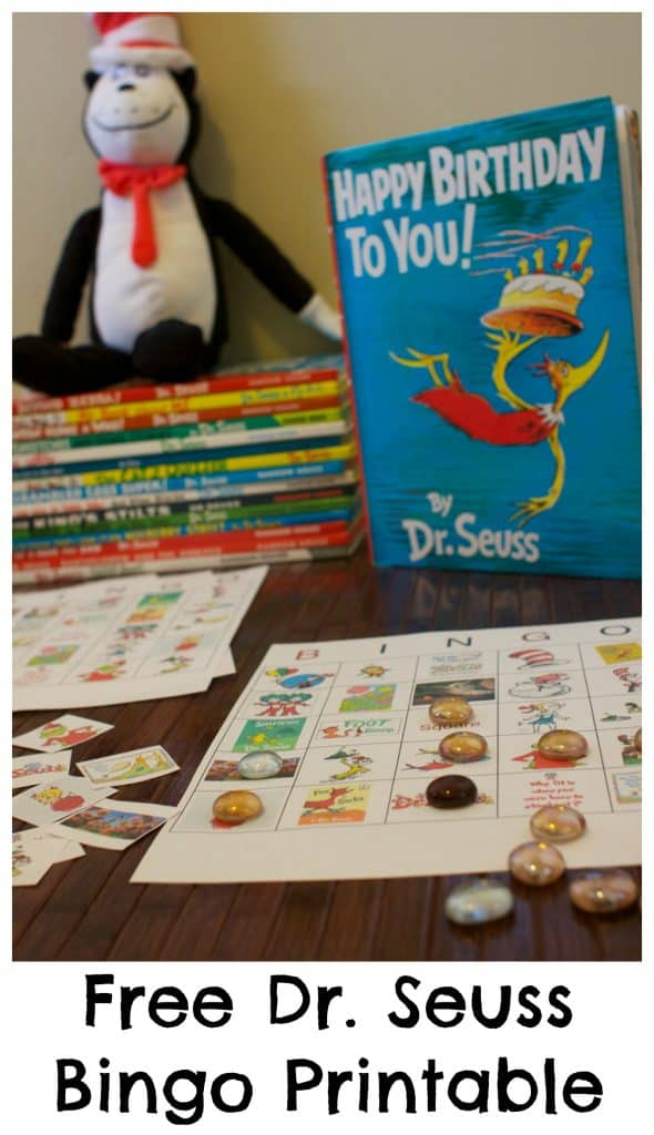 Dr Seuss Bingo Printable