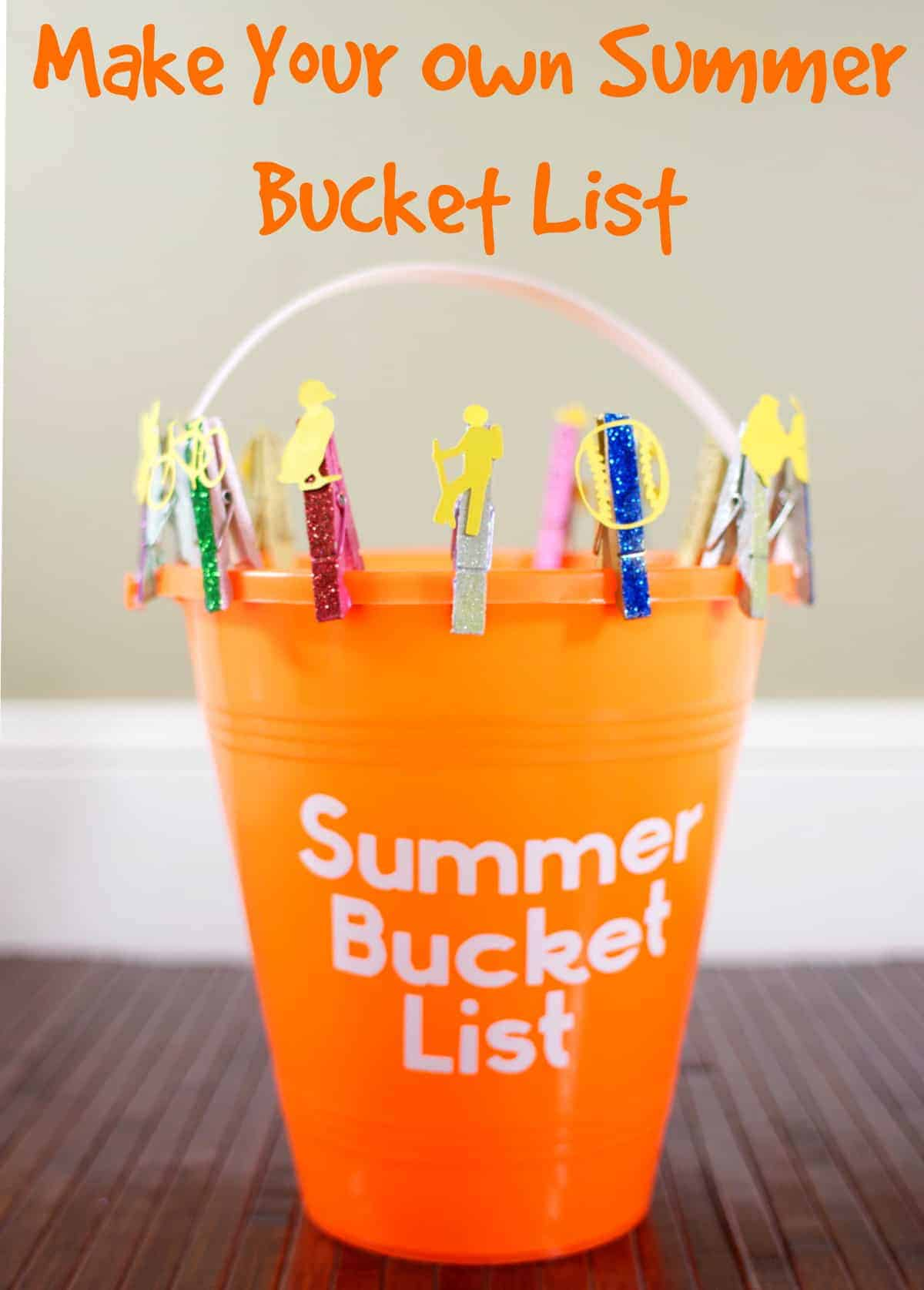 Make Your Right Connection Today Top 10: Make Your Own Summer Bucket List -50 Fun Summer Activities