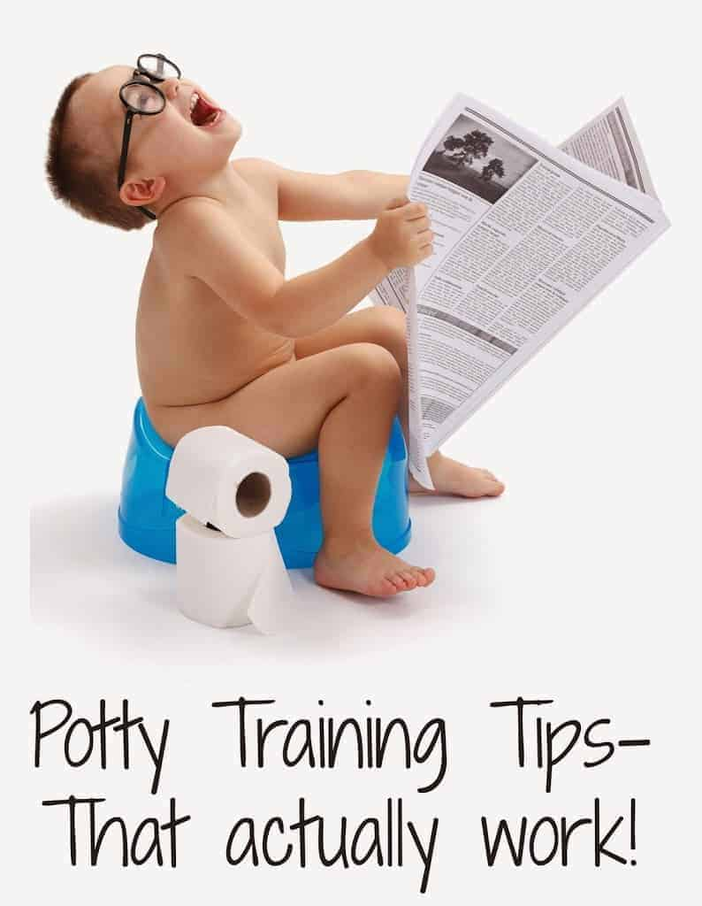 Potty Training Tips for Stubborn Boys and Girls