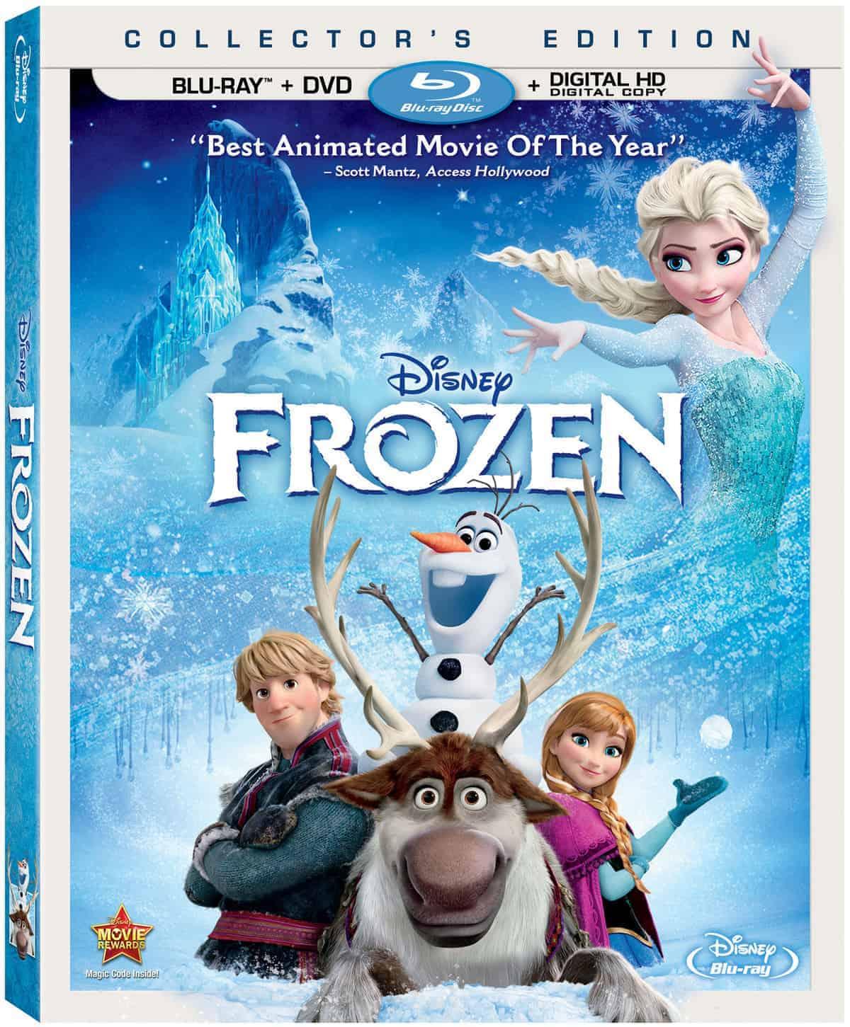 Disney's Frozen Blu-ray