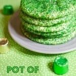 St. Patrick's Day Pot of Gold Cookies