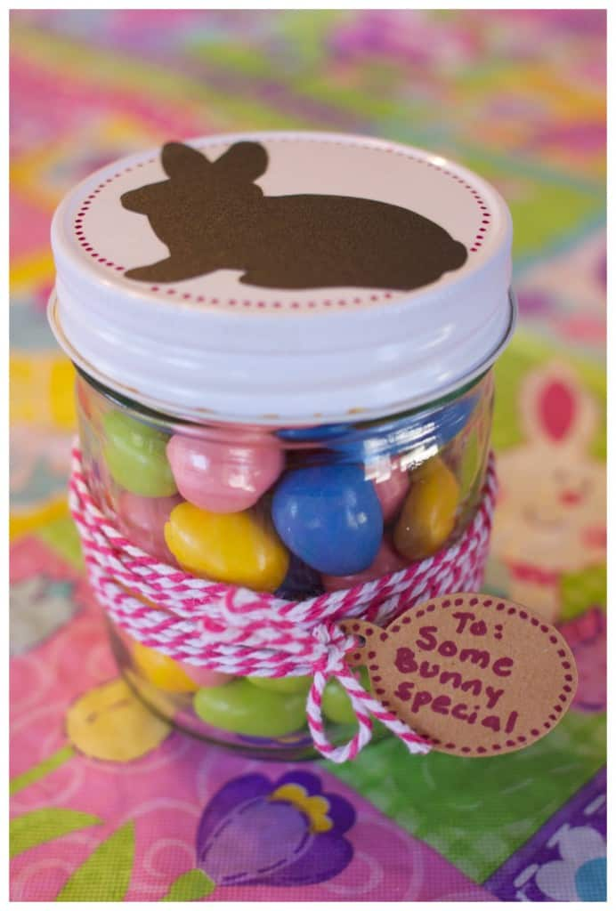 Some bunny special easter gift jar ideas easter gift jar ideas cricut negle Image collections