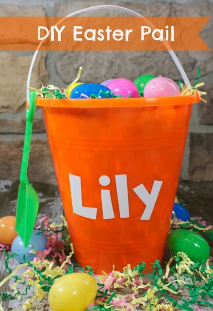 DIY Personalized Easter Pail