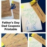 Father's Day Dad Printable Coupons