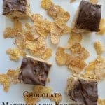 Chocolate Marshmallow Frosted Flakes Bars