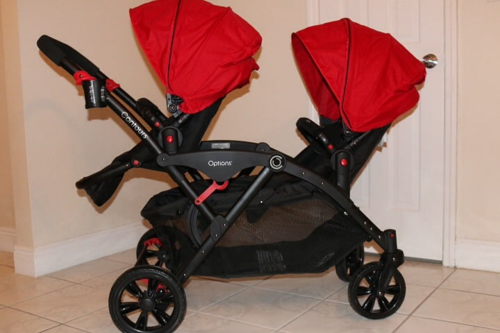 Cruising The Street With the Contours Options Tandem Stroller ...