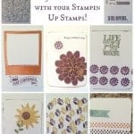 Make Your Own Project Life Cards #stampinup #sizzix