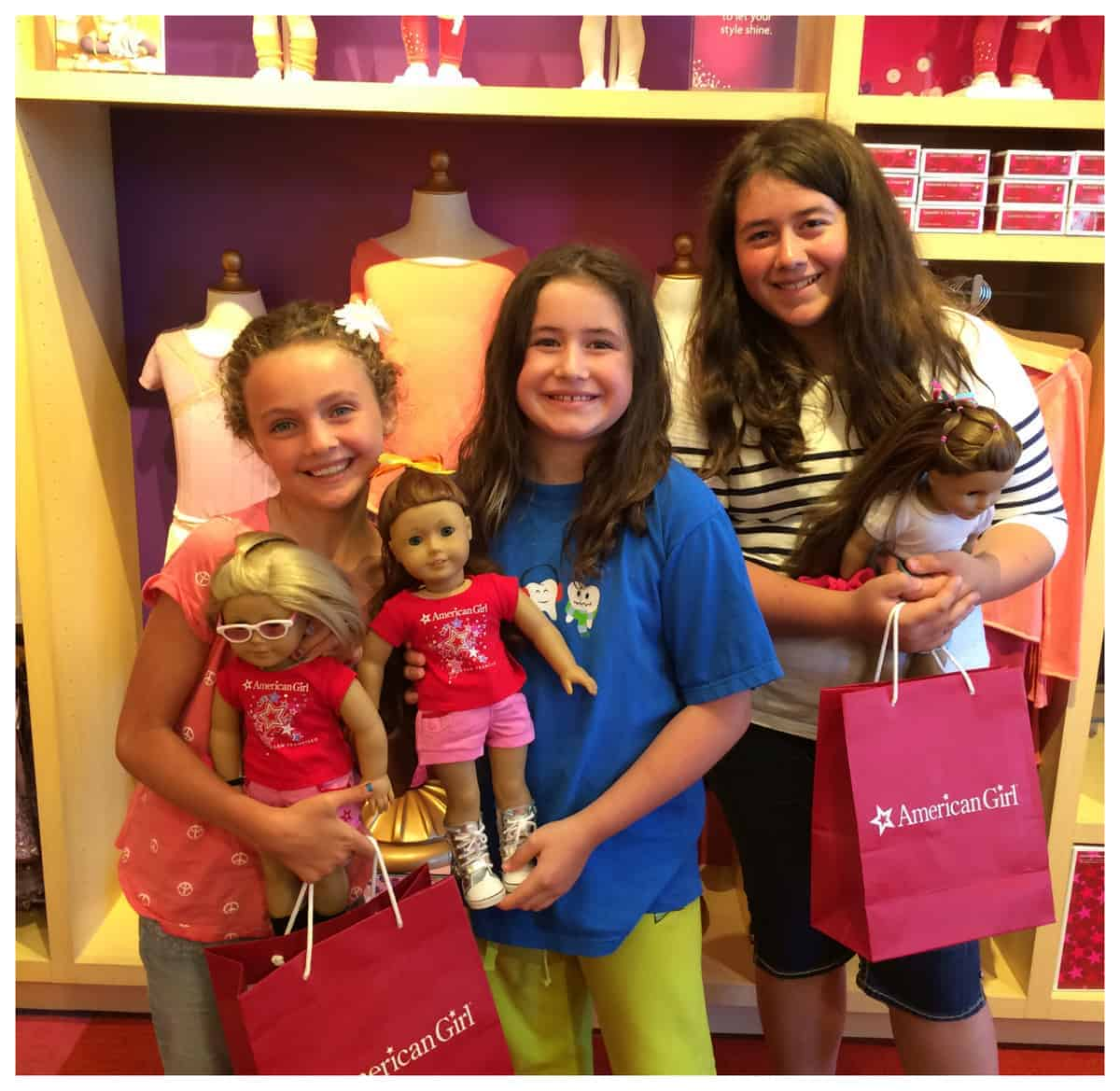 Visit the American Girl® store at Stanford Shopping Center #americangirl