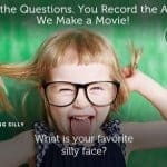 We ask the Questions. You Record the Answers.  We make the Movie! #OneDayApp