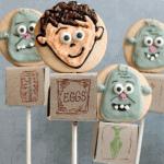 The Cutest ever Boxtrolls Cookie Pops! #TheBoxtrollsCC
