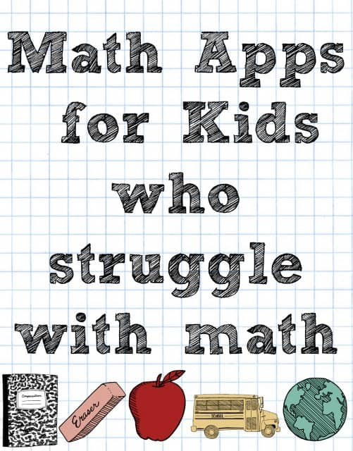 Math Apps for Kids who struggle with math