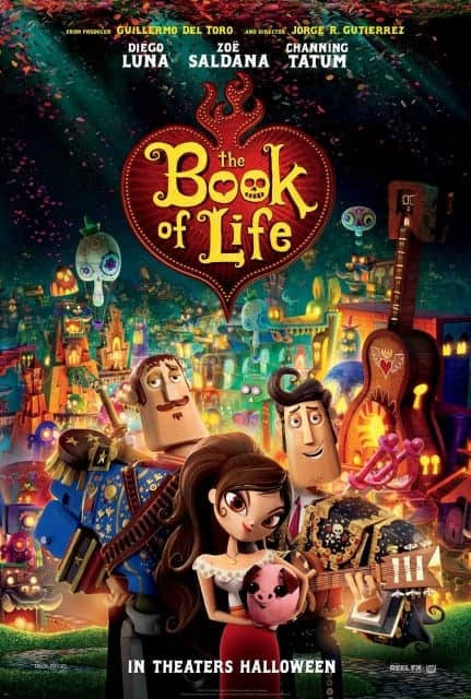 The Book of Life in Theaters October 17th 2014!