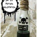 Jar of Poison Halloween Decoration