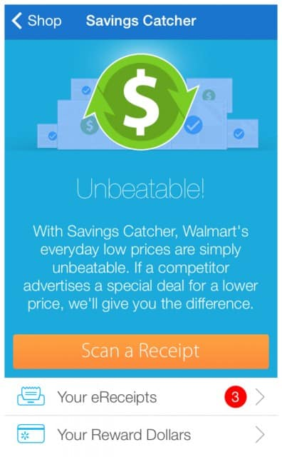 WalmartSavingsCatcher