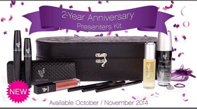 2 year anniversary younique presenter kit a sparkle of genius