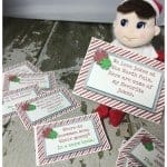 10 Easy Elf On The Shelf Ideas and FREE Printables!
