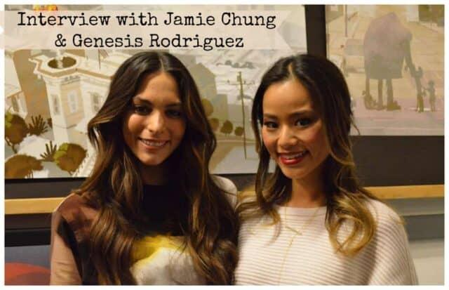 InterviewwithJamieChung&GenesisRodriguez