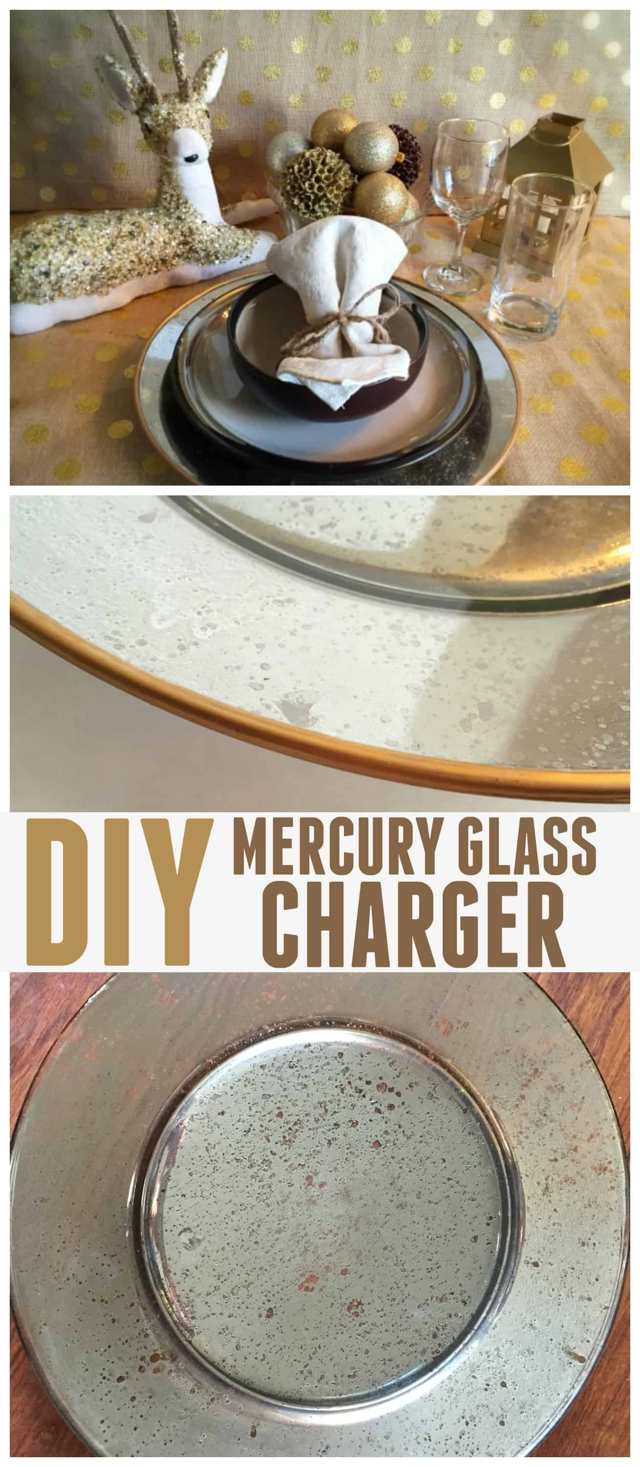 diy mercury glass charger