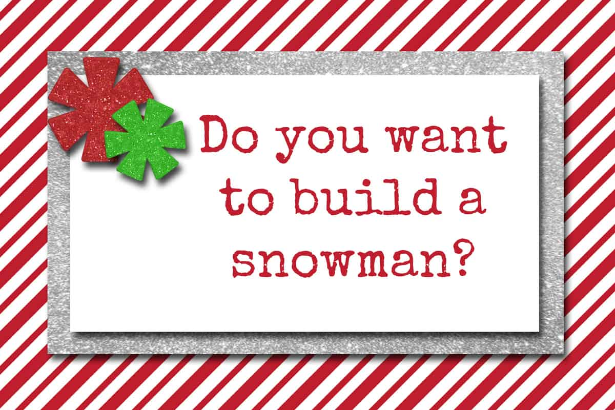 photo relating to Do You Want to Build a Snowman Printable referred to as Elf upon the Shelf Snowman Strategy and No cost Printable