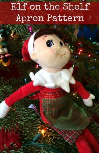 Elf on the Shelf Apron Pattern