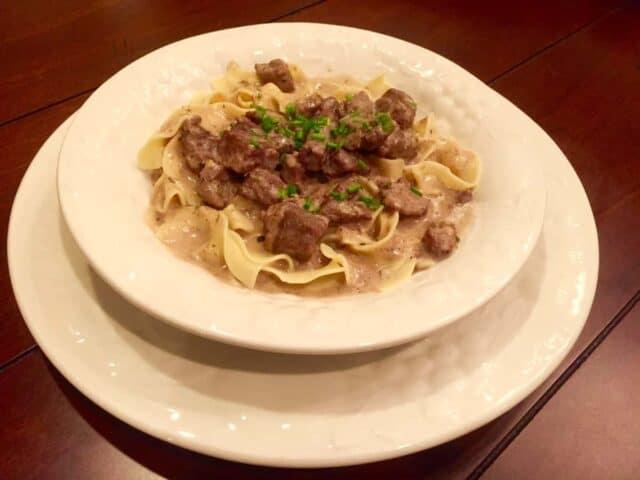 Savory Beef Stroganoff Recipe