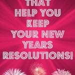 5 apps that help you KEEP your New Years Resolutions! #VZWbuzz