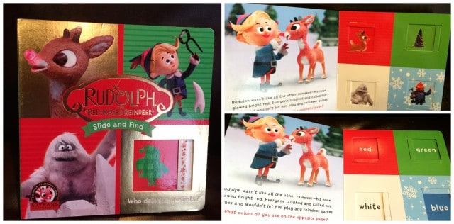 Rudolph the Red-Nosed Reindeer: Slide and Find