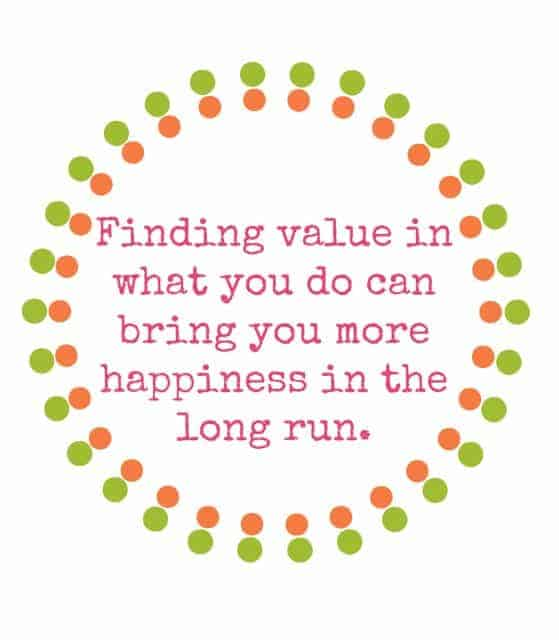 ValueHappiness