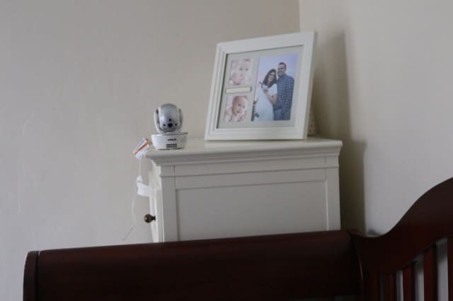 vtech baby monitor camera placement