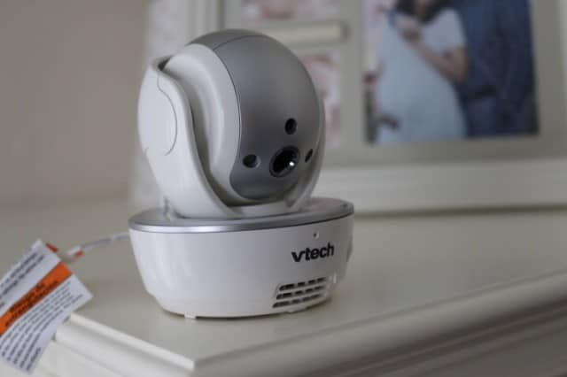 vtech baby monitor close up