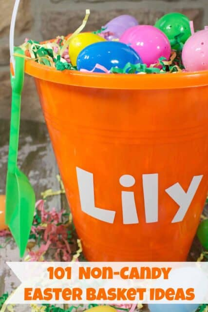 101 Non Candy Ideas for your Easter Basket