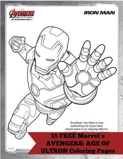 AvengersColoringPages