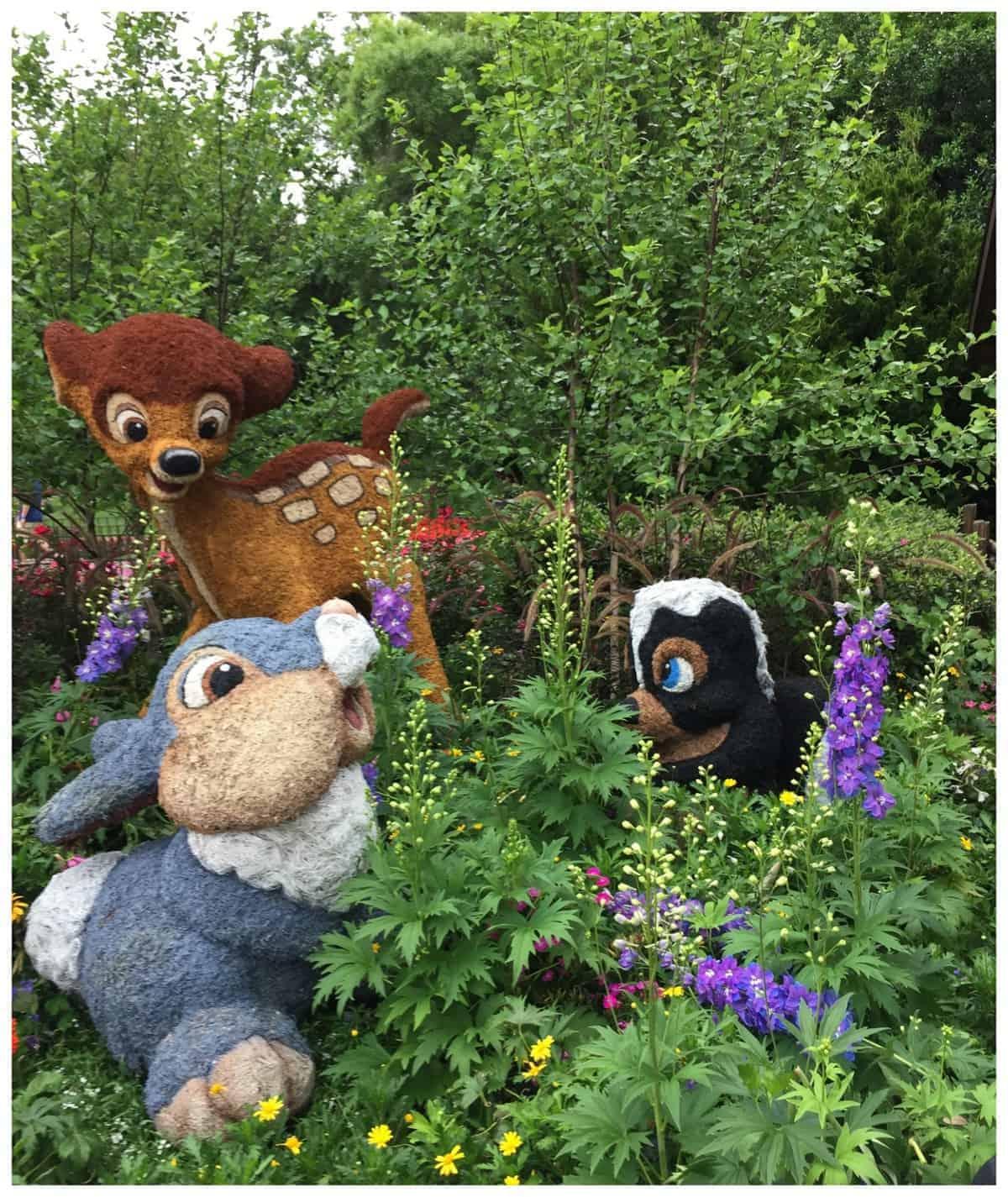 Epcot's International Flower & Garden Festival #MonkeyKingdomEvent