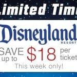 Save up to $18 per ticket on all‪ ‎Disneyland‬ Resort tickets!