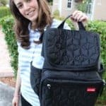 Taking the Twins Out On the Town? Manage it With the Skip Hop Forma Backpack Diaper Bag!