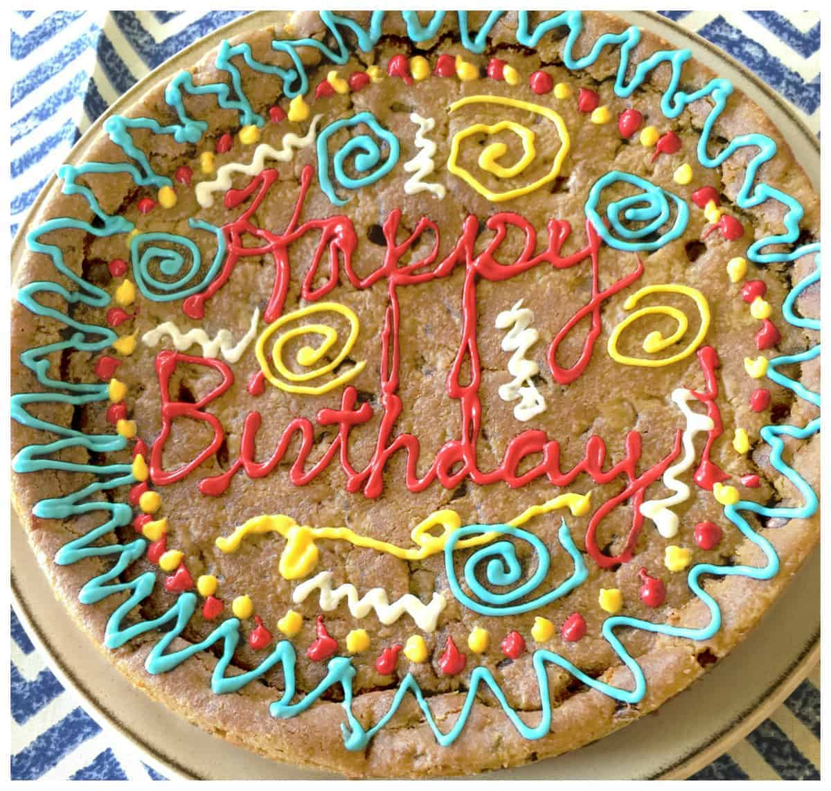 Make Your Own Birthday Cookie