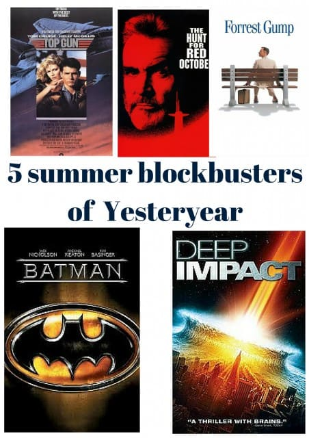 5 summer blockbusters of Yesteryear