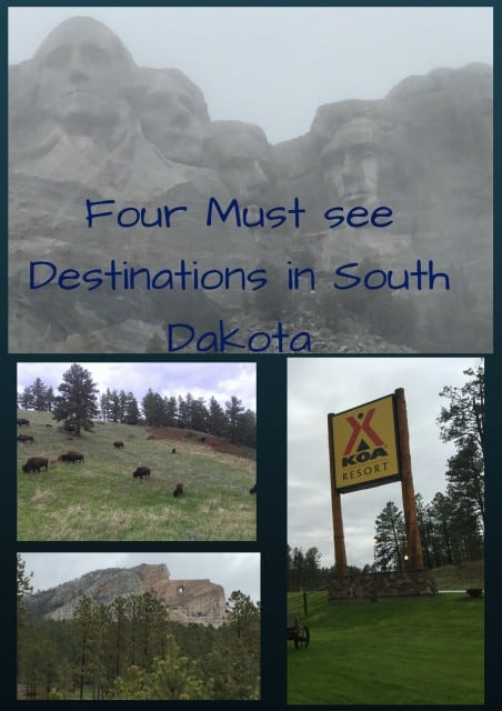 Four Must See Destinations in South Dakota