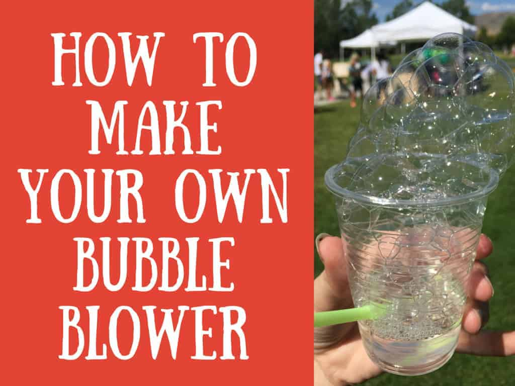 Make your own bubble blower archives a sparkle of genius for How to make a bubble blower from a water bottle