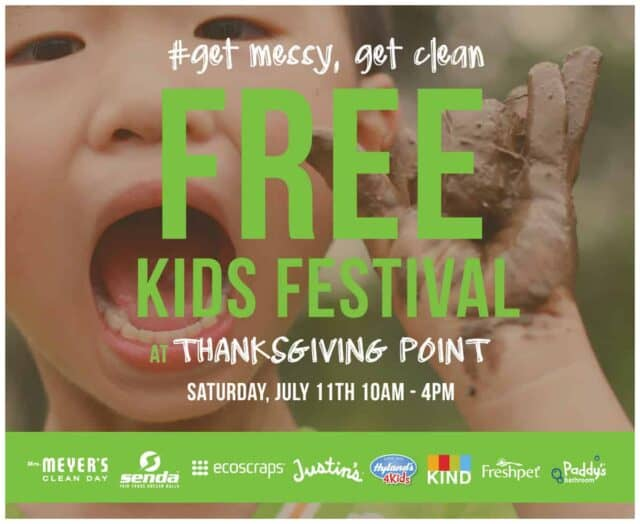 7 reasons you should attend Get Messy, Get Clean family festival at Thanksgiving Point