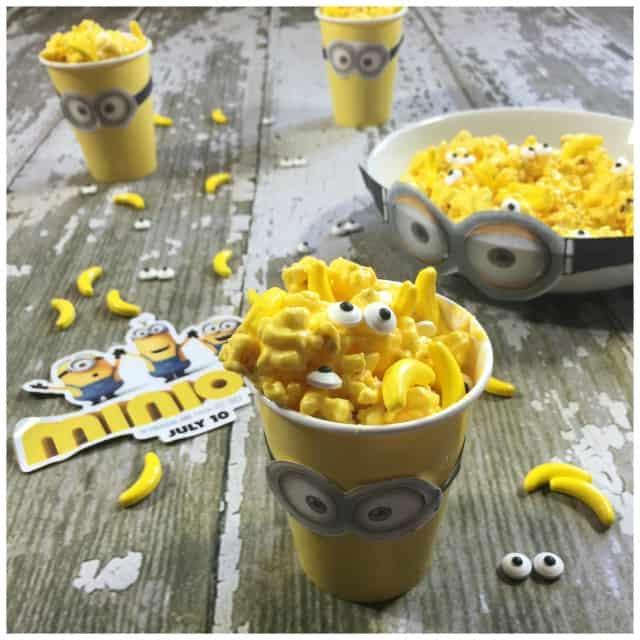Minions Banana Chocolate Popcorn Recipe