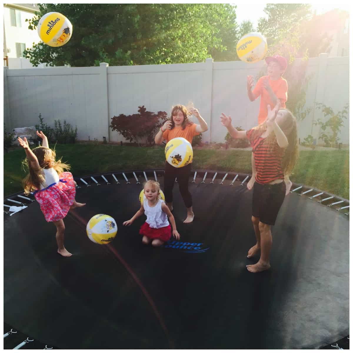 Check Out Our Minions Backyard Bash Minionsparty A Sparkle Of Genius