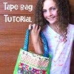Duct Tape Bag Tutorial