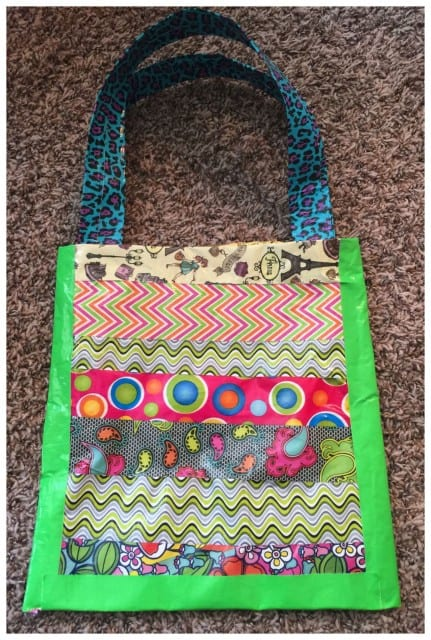 Easy Duct Tape Bag Tutorial