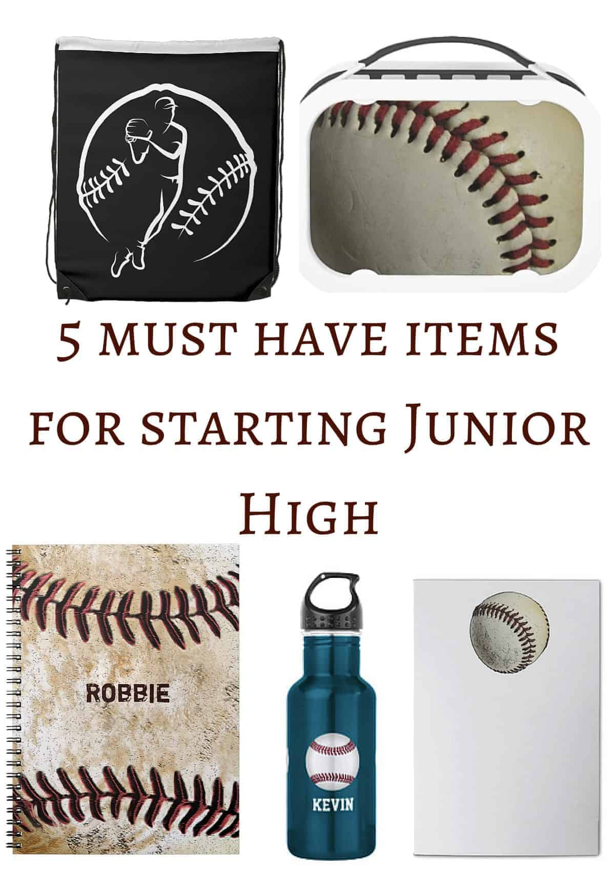 5 Must Have Items for Starting Junior High