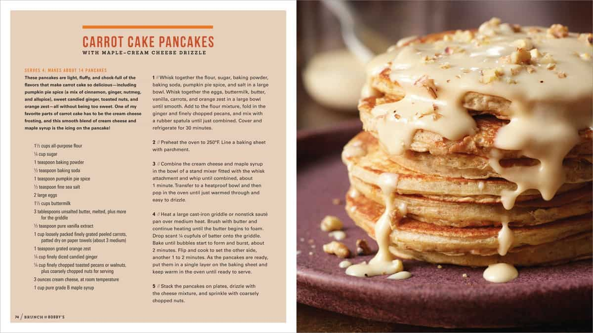 Brunch bobby s by bobby flay cookbook giveaway for Brunch with bobby recipes