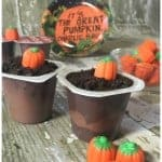 It's the Great Pumpkin, Charlie Brown Pudding Cups